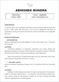 Example Call Center Resume New 48 Best Sample Resume For Accountant
