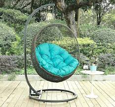 hide turquoise outdoor swing chair with canopy australia