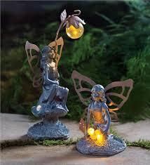 fairy garden statues. Solar Fairy Garden Statues