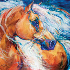 fabulous horse wall art