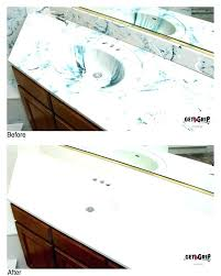painting cultured marble countertops refinish
