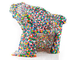 Unusual furniture pieces Crazy Shaped View In Gallery Soda Bottle Cap Chair By Brc Designs Decoist Unusual Furniture Pieces From Materials To Shapes