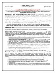 Health Research and Policy Analyst Resume that worked! | Our Sample Resumes!  | Pinterest | Sample resume