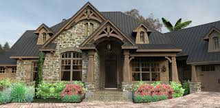 Three Regal European House Plans   The House Designershouse plans