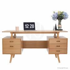 scandinavian desk furniture. josephine scandinavian style furniture office desk oak