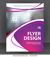 property pamphlet abstract flyer brochure cover layout design stock vector 517244977