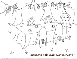 Small Picture bnute productions Mad Hatter Tea Party Printable Tea Party