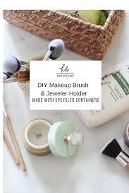diy makeup brush holder jewelry holder png
