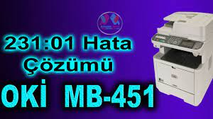 Oki 231 error 01 - Oki MB451 Ve Oki -ES4191 Hata Çözümü - YouTube