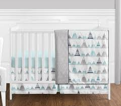 piece perless crib bedding collection