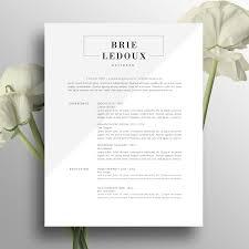 Professional Resume Template Creative Resume Design Modern 2