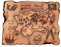 Resultado de imagen para imagenes dibujos animados de piratas y mapas de tesoros