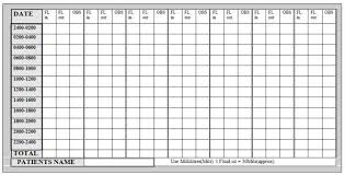 Fluid Chart Template Staff Rostering