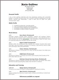 Resume Template Free Word ...