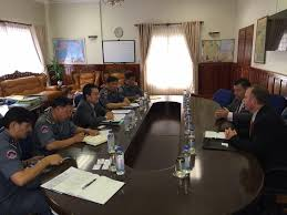 general department of customs and excise of general official talk between inspection delegates of us department of homeland security and s general department of customs and excise