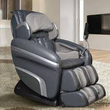 massage chair grey. osaki charcoal faux leather reclining massage chair grey t