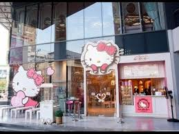 HELLO KITTY HOUSE and CAFE BANGKOK Thailand