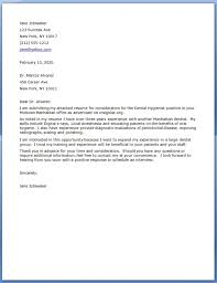 Gallery Of Dental Assistant Cover Letter Examples