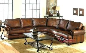 5 piece leather sectional gianna reclining 5 piece leather sectional nevio