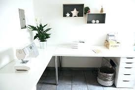 home office desk white. White Home Office Desk L