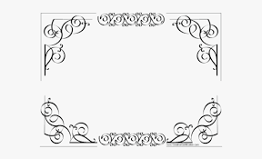Certificate Outline Certificate Template Clipart Outline Borders For