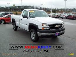 2006 Chevrolet Silverado 2500HD Work Truck Regular Cab in Summit ...