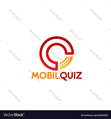 Mobil Quiz Letter Q Icon Royalty Free Vector Image