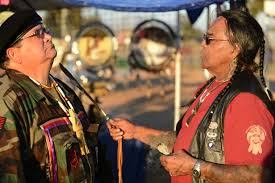 veterans celebrate national native american heritage month dodlive tony littlehawk cherokee tribe member native american veterans association spiritual advisor and sun walker
