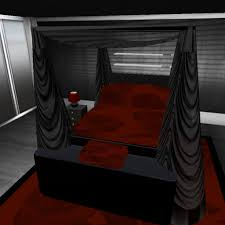 darque passions bedroom furniture black dark red box black and red furniture