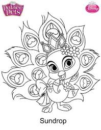 Small Picture Kids n funcom 36 coloring pages of Princess Palace Pets