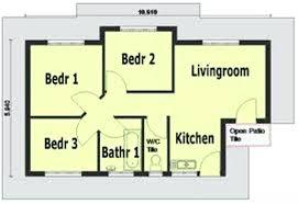 3 Bedroom Home Design Plans Best Decoration