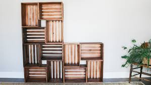 in this tutorial learn how to build these modular wooden crate bookshelves which are perfect
