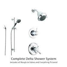 delta 2 handle shower faucets delta shower faucets parts delta shower delta chrome shower system with delta 2 handle shower faucets