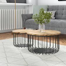 howton 2 piece coffee table set