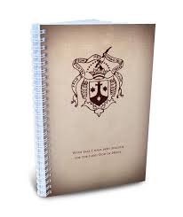 carmelite shield with zeal journal