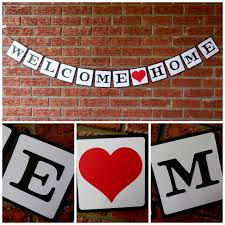 Sample Welcome Banner Welcome Home Banner Welcome Home Sign Deployment Homecoming