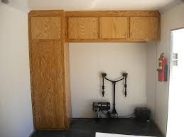 Cabinets For Cargo Trailers Enclosed Trailer Flooring Help The Garage Journal Board