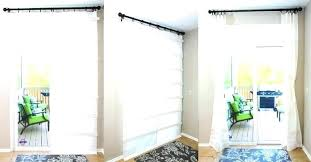 curtains for sliding glass door white curtain shade doors ideas ds f