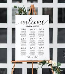 Rustic Seating Chart Rustic Seating Plan Wedding Seating