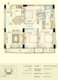 vatika city emilia ground floor plans