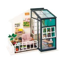 presyo ng miniature dollhouse kit decorations light furniture diy house ornaments toy miniature doll house kit light furniture diy house sa pilipinas