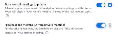 Sales Meeting Topic Zoom Rooms Private Meetings Zoom Help Center