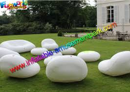 blow up furniture. Blow Up Wedding And Event Sofa Chair, LED Lighting Inflatable Furniture, Outdoor Party Air Sealed Chair Furniture