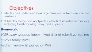 day foundations the sniper and adjectives adverbs ppt  2 day 39 foundations the sniper and adjectives adverbs