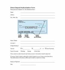 Direct Deposit Authorization Form Gorgeous 44 Direct Deposit Authorization Form Templates Template Archive