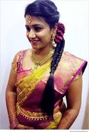 hairstyles for sarees wedding saree