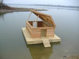 Floating House Plans Plans For Floating Duck Houses House Plans