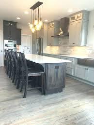 grey wood floor kitchen flooring cherry hardwood tan floors light gray walls with kitch