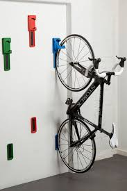 decoration how to hang bicycles in garage wall double bike hangers a91