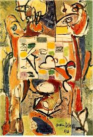 best images about jackson pollock oil on canvas jackson pollock the tea cup 1946 oil on canvas